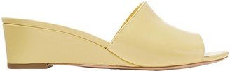 Loeffler Randall Patent-leather Wedge Sandals