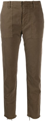 Nili Lotan Skinny Cut-Off Trousers