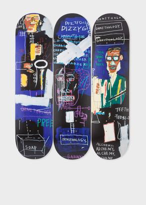 Paul Smith The Skateroom - Jean-Michel Basquiat 'Horn Players (1983)' Skateboard Triptych