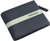IU COMP Pidengbao Men's Leather Stripe Wallet