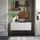 west elm Modern Buffet - White