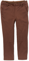 E-Land Kids Brown Leg-Patch Jodhpurs - Toddler & Girls
