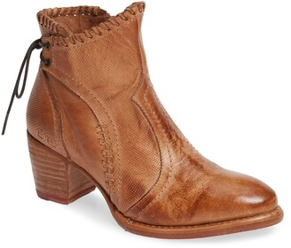 Bed Stu Bia Lace-Up Bootie