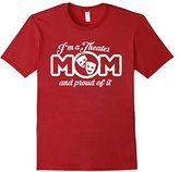 Men's Theater Mom Shirt - I'm A Theatre Mom and Proud T-Shirt Medium
