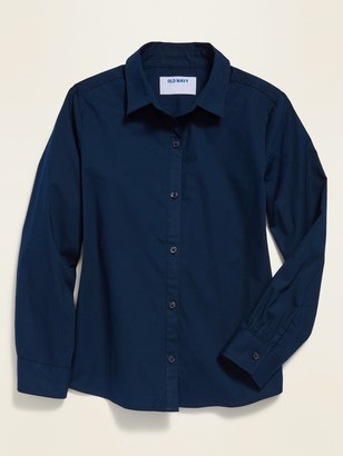 Old Navy Uniform Long-Sleeve Shirt for Girls