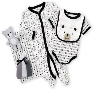 Baby Essentials Cutie Pie (Newborn Boys) 9-Piece Bear Hanging Gift Set