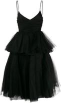 Brognano flared tulle dress