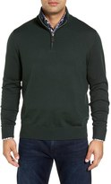 Tailorbyrd Men's S.cascade Quarter Zip Wool Sweater