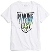 Under Armour Toddler Boy's Making It Look Easy Heatgear T-Shirt