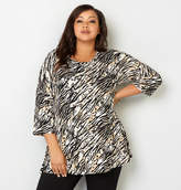 Avenue Zebra Empire Swing Top
