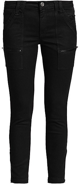 Joie Park Mid-Rise Zippered Skinny Pants