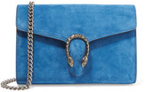 Gucci Dionysus Suede Shoulder Bag - Blue