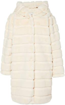 Apparis Celina Hooded Faux Fur Coat