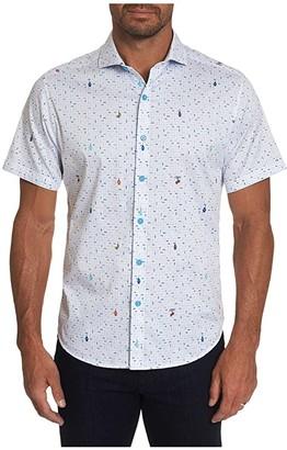Robert Graham Car Wash Button-Up Shirt (White) Men's Clothing