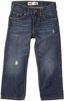 Levi's 514 Straight Fit Jeans (Toddler/Kid)-Rip Torn-2T