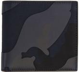 Valentino Garavani Valentino Blue Camo Wallet