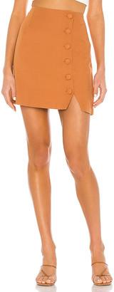 Amuse Society Mari Woven Mini Skirt