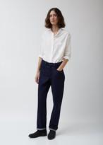 La Garçonne Moderne Soft Indigo Denim Painter Jean