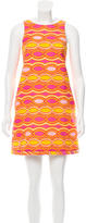 Lisa Perry Patterned Shift Dress