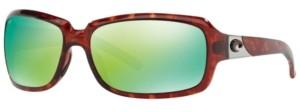 Costa del Mar Polarized Sunglasses, Cdm Isabela 63