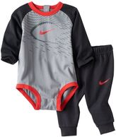 Nike Baby Boy Sports Bodysuit & Pants Set