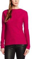 Tom Tailor Women's Long Sleeve Sweatshirt Red Rot (red bud 4494)
