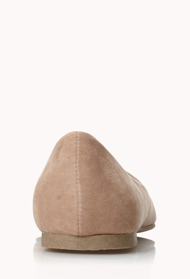 Forever 21 Classic Faux Suede Flats