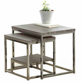 Asstd National Brand 2-pc. Nesting Tables