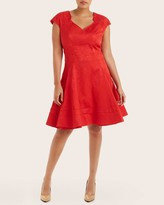 Zac Posen Fit and Flare Party Dress