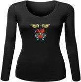 bon jovi Printed long sleeve Tops T shirts bon jovi Printed For Ladies Womens Long Sleeves Tops