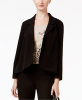 Alfani Petite Mixed-Media Blazer, Only at Macy's