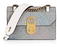 Christian Louboutin Women's Mini Elisa Glitter Shoulder Bag
