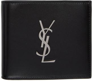 Saint Laurent Black Monogramme East/West Wallet
