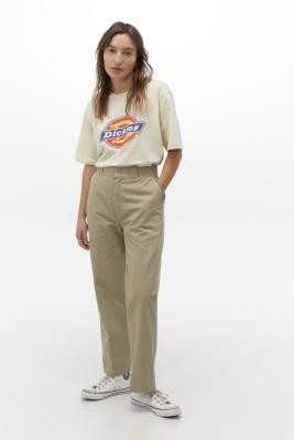 Dickies Stone Skate Trousers - White 28 at Urban Outfitters