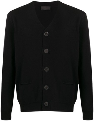Iris von Arnim Oversized Buttons Cardigan