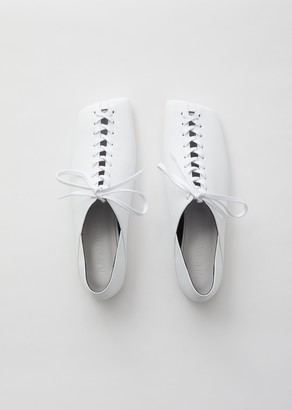 Flat Apartment Lace Up Flats