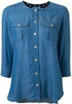 GUILD PRIME denim effect button down shirt - women - Lyocell - 34