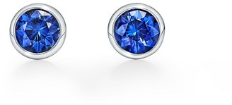 Tiffany & Co. Elsa Peretti Diamonds by the Yard earrings Sapphires
