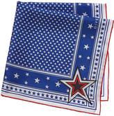Givenchy Star Silk Twill Square Scarf