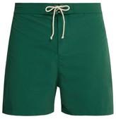 Bower - Laced-waistband Swim Shorts - Mens - Green