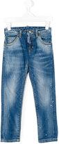 DSQUARED2 stonewashed jeans - kids - Cotton/Spandex/Elastane - 4 yrs