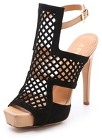 Aperlaï Cage Front Sandals