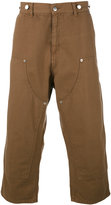 Paura 'Carlini' cropped trousers - men - Cotton - M