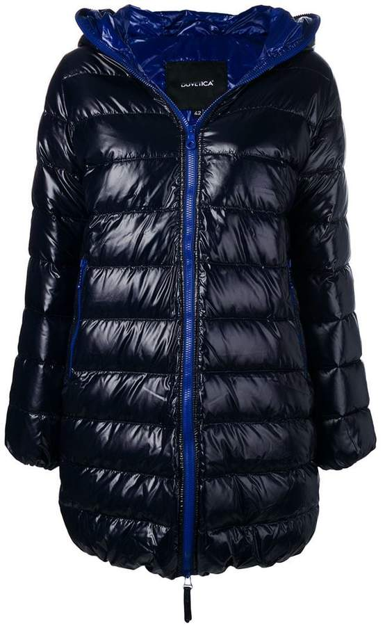 Duvetica quilted down coat