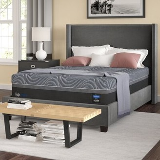 "Sealy Hybrid Premium Silver Chill Cooling 14"" Hybrid Mattress Mattress Size: Queen"