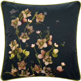 Ted Baker Arboretum Bed Cushion - Navy - 45x45cm