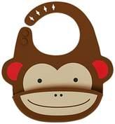 Skip Hop Zoo Silicone Monkey Bib