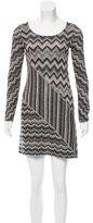 M Missoni Chevron Sweater Dress
