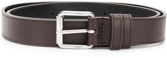 Comme des Garcons Square-Tip Leather Belt