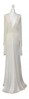 Free People White Cotton - elasthane Dresses